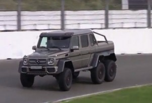 Mercedes-Benz G63 AMG 6x6 at Zandvoort screencap