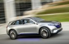 Mercedes EQC electric crossover SUV teased in new videos