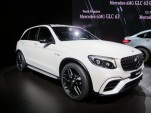 2018 Mercedes-AMG GLC63, 2017 New York auto show