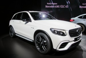 2018 Mercedes-AMG GLC63, 2017 New York auto show