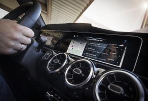 Mercedes-Benz MBUX user interface