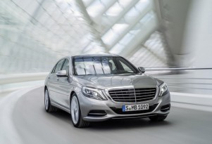Mercedes-Benz S Class Plug-In Hybrid Due At Frankfurt Show