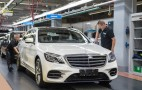 The 2018 Mercedes-Benz S-Class drives itself off the production line