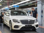 2018 Mercedes-Benz S-Class production
