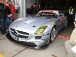 Mercedes-Benz SLS AMG GT3 race debut