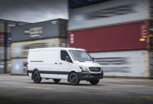 Mercedes explores ways to turn its Sprinter van all-electric