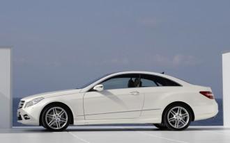Mercedes Announces 2010 E-Class Coupe Engine Lineup