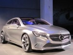 Mercedes-Benz Concept A-Class, at new Mercedes-Benz Manhattan showroom, April 2011