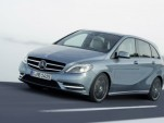 2012 Mercedes-Benz B-Class Compact Hatchback Due At Frankfurt