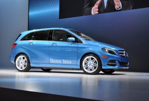 Mercedes-Benz B Class Electric Drive: Live Photos From NY Show