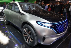 Mercedes previews new electric car lineup with Generation EQ concept