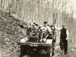 First test drive of the Unimog on 9 October 1946