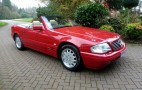 Mercedes-Benz SL500 driven only 80 miles because owner lost the keys sells at auction