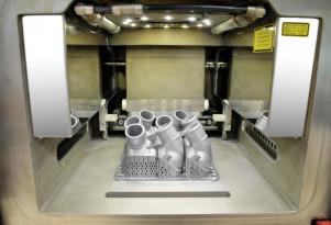 Mercedes-Benz 3D-printed metal replacement parts