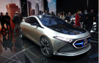 Mercedes unveils EQA compact electric car concept in Frankfurt