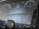 Mercedes-Benz A-Class plug-in hybrid gauge cluster