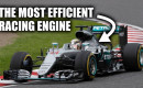 Mercedes-Benz F1 engine efficiency