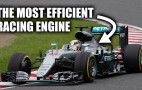 Mercedes created the world's most efficient racing engine