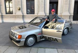 Mercedes-Benz 190e 2.3-16v Ex-Niki Lauda 1984 for sale