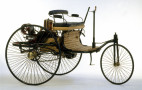 Buy Mercedes' own replica of the world's first car, the Benz Patent Motorwagen