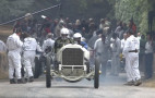 Watch a 110-year-old Mercedes-Benz grand prix racer take on the Goodwood hill climb