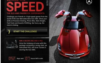 Apps For Facebook, iPhone Put The Mercedes-Benz SLS AMG Front And Center