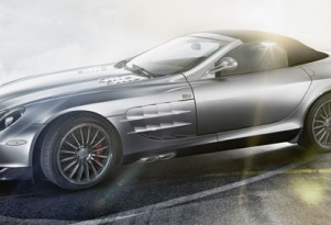 Mercedes-McLaren SLR Roadster '722 Edition' expected to make Paris Motor Show debut