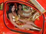 Mercedes SLR 999 Red Gold