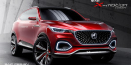 MG X-Motion SUV concept