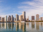Miami skyline - Image via City of Miami Government