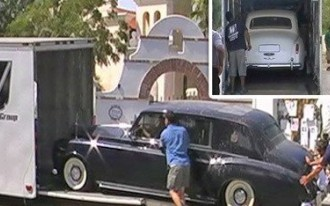 Michael Jackson's Rolls Royces Roll Into Storage