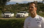 Schumacher And Rosberg Shake Down The Mercedes A Class, Play Soccer: Video
