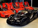 Michael Schumacher's Ferrari Enzo and FXX - Image: Garage Zénith