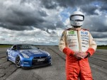 Blind Man Sets Land Speed Record In 1,000-HP Nissan GTR: Video