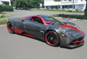 Miller Motorcars delivers its first Pagani Huayra in the U.S.