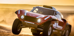 Mini John Cooper Works Buggy for 2018 Dakar Rally