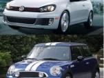 Mini Cooper S JCW And Volkswagen GTI