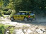 MINI Countryman WRC in shakedown testing