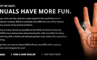 MINI Tries To Save Stick-Shifts With $500 Discount