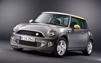 The MINI E Isn't Quite Ready For Its Close-Up