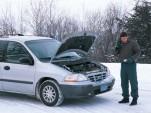 minivan - AAA roadside assistance