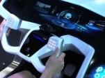 Mitsubishi EMIRAI biometrics concept