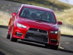 Mitsubishi Evo X to hit US shores first