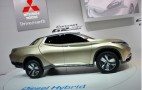 Mitsubishi GR-HEV Concept: Hybrid Pickup At Geneva