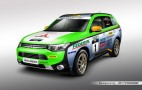 Mitsubishi Outlander Plug-In Hybrid Goes Rallying In Asia