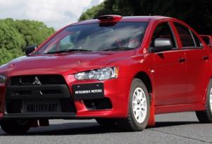 Mitsubishi previews WRC Lancer Evolution X Group N racer