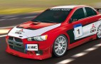 Mitsubishi UK building Lancer Evo X road-race car
