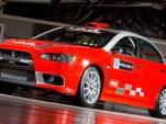 MML Sports Mitsubishi Lancer Evolution X Group N Rally car