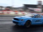 MMR's twin-turbo 2010 GT500 breaking the 200 mph mark in the quarter mile
