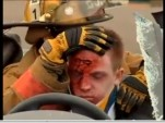 mock DUI crash